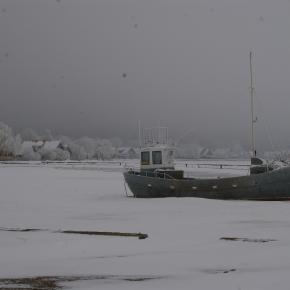 Icy marina