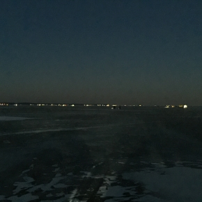 Miestas ant ledo