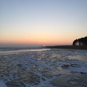 Saulėlydis virš Nidos