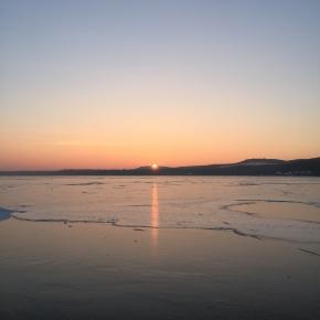 Saulėlydis virš Preilos